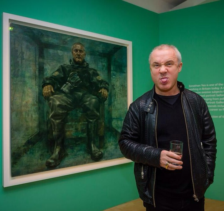 Hirst at Yeo opening